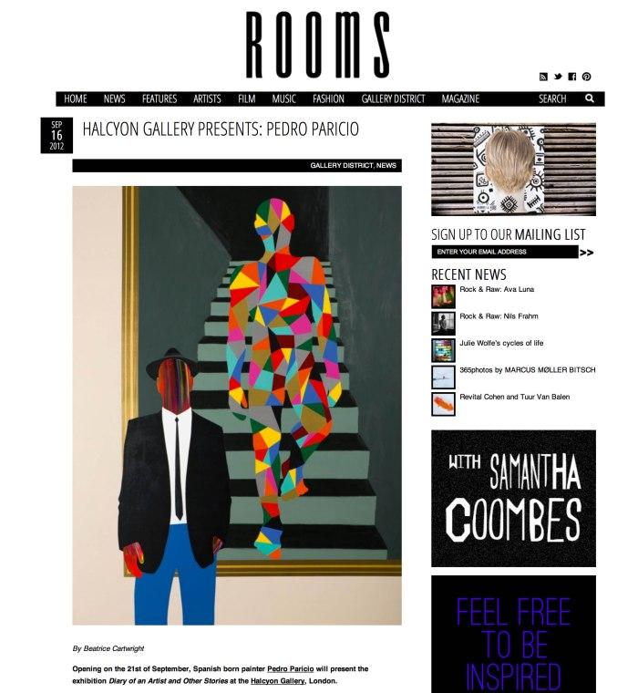 2012-09-16 Halcyon Present Paricio_ROOMS MAGAZINE_COVER