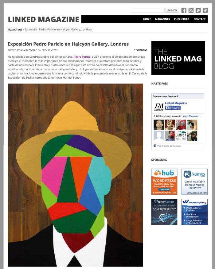 2012-09-20 Paricio en Halcyon_THE LINKED MAG BLOG_COVER