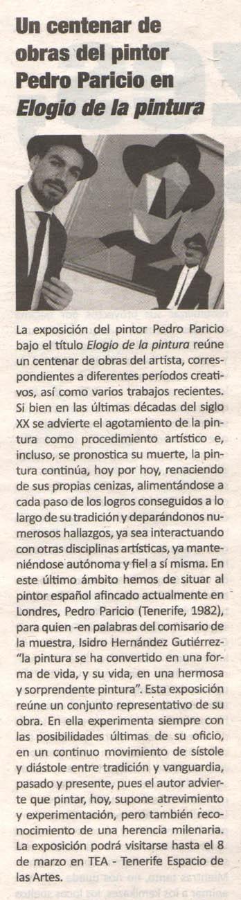 2015-02-22 Elogio de la pintura_Canarias Grafica Review