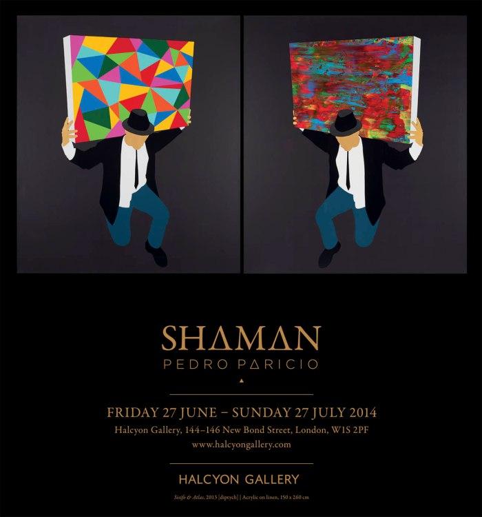 Shaman_Halcyon Gallery_27062014_invitation